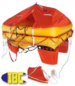 8 Man Offshore Life Raft Canister Type ISO 9650