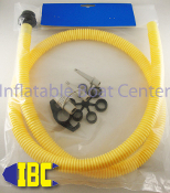 Inflatable Boat Replacement Pump Hose (with adapter ring)