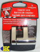 Boat Trailer Coupler Lock