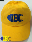 IBC Logo Hat Yellow