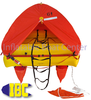 6 Man Coastal Life Raft Canister Type