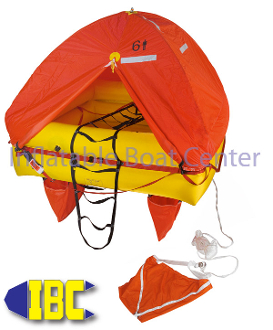 8 Man Coastal Life Raft Valise Type