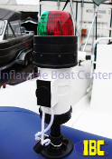 Bi-Color Bow Navigation Light Inflatable Mount Type