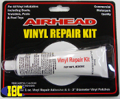 Vinyl Repair Kit for towables, air mattresses, & Sevylor inflatable boats