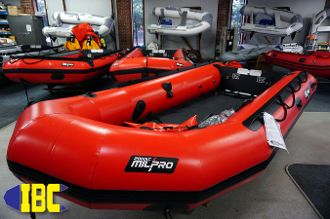 Zodiac MILPRO ERB400 Inflatable Boat at The Inflatable Boat Center